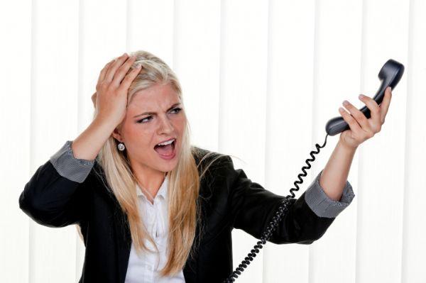 צרות בטלפוניה