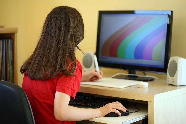 גישה לאינטרנט בקרב בנות