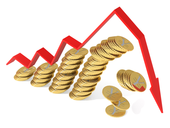 ירידה בהכנסות