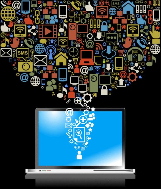 אפליקציות במחשב נייד