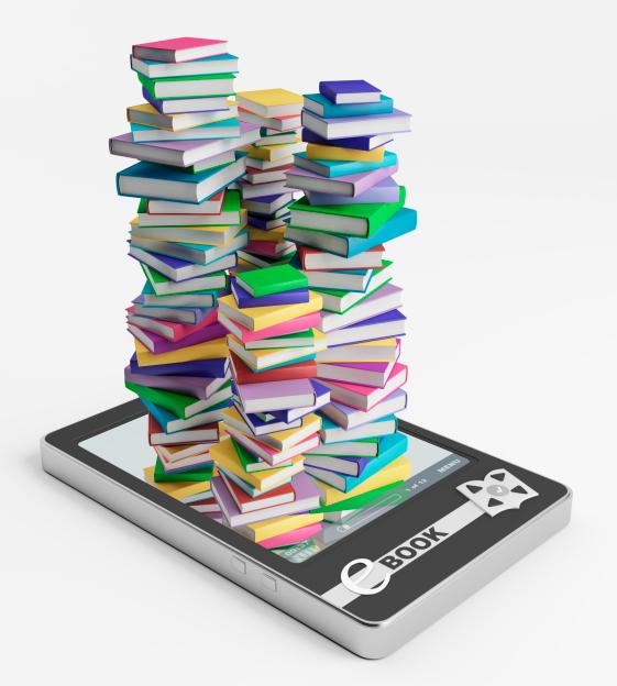 ספרים וסמארטפון