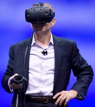 פט גלסינגר ו-VR