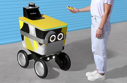 רובוט משלוחים