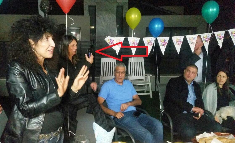 תמונה מהמסיבה