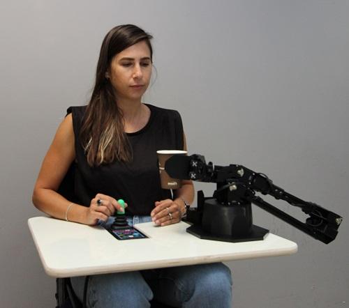 זרוע רובוטית יחצ בית חולים אלין
