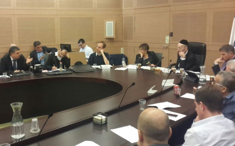 ישיבת ועדת הכנסת