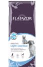 """פלטזור Flatazor מזון דיאטתי לכלבים מעוקרים מסורסים, מתאים גם לכלבים בוגרים עם עודף משקל 15 ק""""ג"""