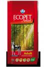 "ecopet natural- מזון יבש לכלבים על בסיס עוף במשקל 12 ק""ג"