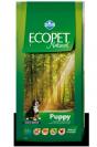 "ecopet natural- מזון יבש לכלבים גורים - על בסיס עוף במשקל 2.5 ק""ג"