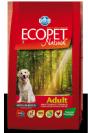 "ecopet natural-מזון יבש לכלבים על בסיס עוף במשקל 2.5 ק""ג"