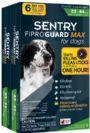 """אמפולות סנטרי גארד מקס נגד פרעושים וקרציות לכלב  עד 10-20 ק""""ג  SENTRY"""