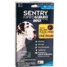 """אמפולות סנטרי גארד מקס נגד פרעושים וקרציות לכלב  עד 40-60 ק""""ג SENTRY"""