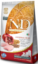 """8010276021908 מזון יבש לגורי כלבים וכלבות הרות ומניקות עוף ורימונים 12 ק""""ג Natural&Delicious"""