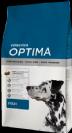 """OPTIMA  דגים במשקל 15 ק""""ג מזון יבש לכלבים תוצרת ספרד"""
