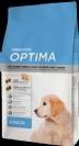 """OPTIMA  גורים במשקל 15 ק""""ג מזון יבש לכלבים תוצרת ספרד"""