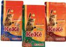 """KEKE מזון יבש עוף והודו לחתולים במשקל 16.5 ק""""ג"""