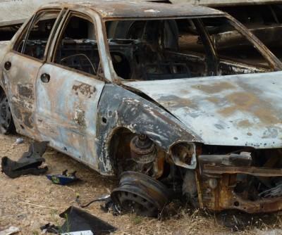 רכב לאחר שריפה קונה רכבים לברזל