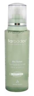 מי צמחים להרגעת עור הפנים והקרקפת Barbadoc