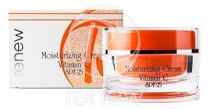 קרם לחות ויטמין  Renew Moisturizing Cream Vitamin C SPF 25 C