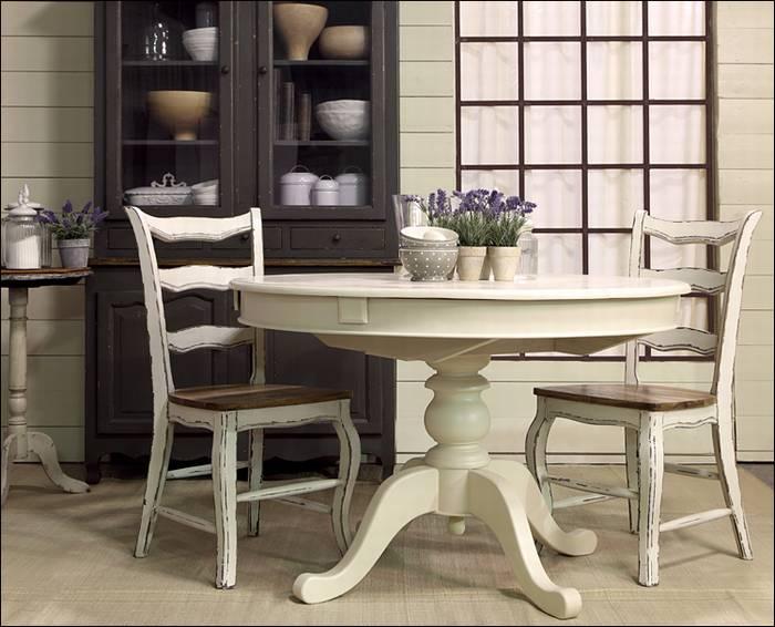 שולחן אוכל עגול - SPM1000