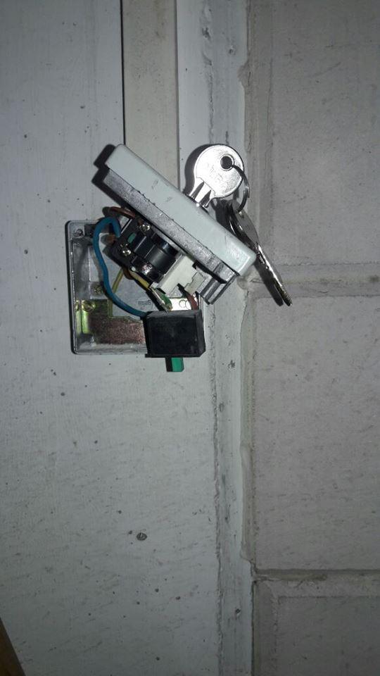 צילינדר תריס חשמלי