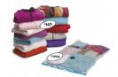 שקיות וואקום גדולות לאחסון בגדים ושמיכות