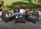 מערכת ישיבה מעוצבת לגינה מבית כתר