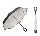 מטריה הפוכה ענקית וחזקה בקוטר 24 אינץ'