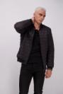 מעיל ניילון הארפר שחור לגבר