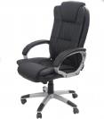 כיסא מנהלים ארגונומי עם משענת גב גבוהה