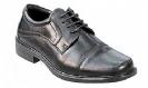 נעלי עור אלגנטיות לגברים מבית Absolute Comfort, צבע שחור