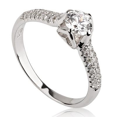 טבעת אירוסין - Heart