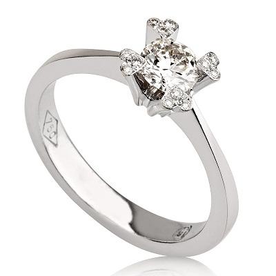 טבעת אירוסין - Hearts