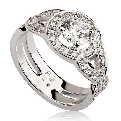 טבעת אירוסין -  Braids
