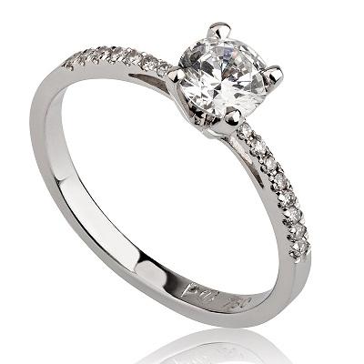 טבעת אירוסין - Dainty