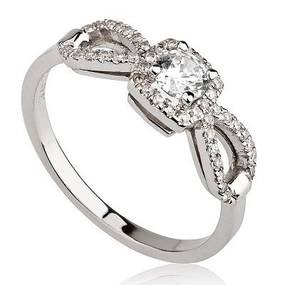 טבעת אירוסין -  Drop