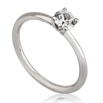 טבעת אירוסין זולה - Tiffany
