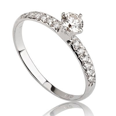 טבעת אירוסין זולה - Lital