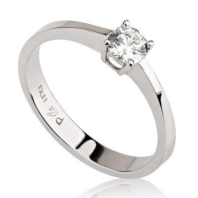 טבעת אירוסין זולה - Simple