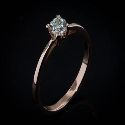 טבעת אירוסין זולה - Solitaire