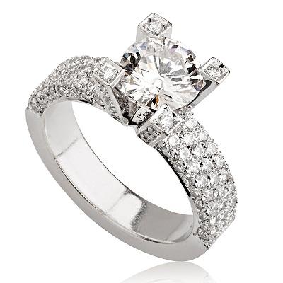 טבעת אירוסין מיוחדת - Plentiful