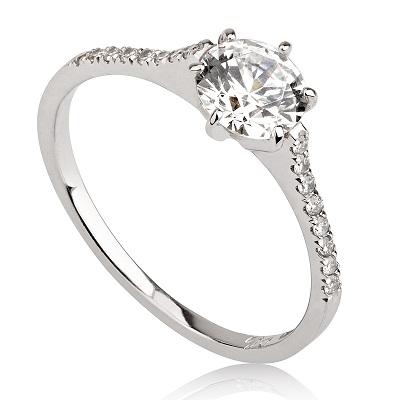 טבעת אירוסין מיוחדת - Princess
