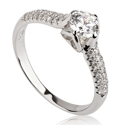 טבעת אירוסין מיוחדת - Heart