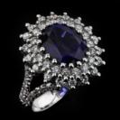 טבעת אירוסין - Diana full diamonds