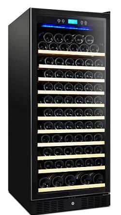 מקרר יין עד 110 בק,Galaxy פרימיום. מדחס, מדפי עץ נשלפים, תצוגה דיגיטלית,משלוח חינם