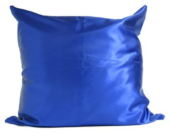 כרית ריבוע כחול