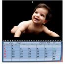 לוח שנה תמונה בודדת A4