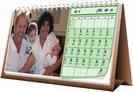 לוח שנה שולחני 13X30