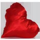 כרית לב אדום