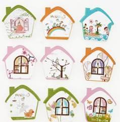 כפתורים מעץ-בתים